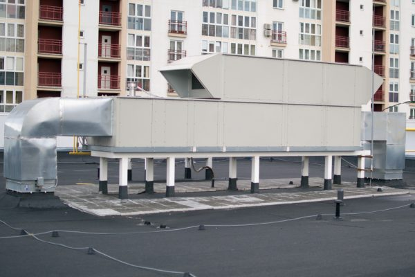 Air Handling Unit (rooftop) for the central ventilation system